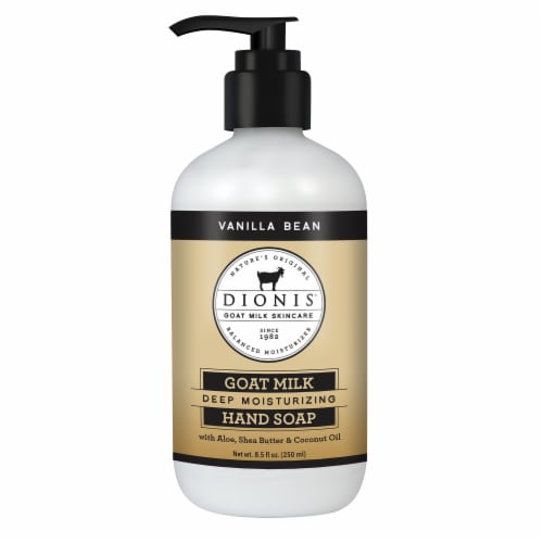 Dionis Vanilla Bean Hand Soap Perspective: front