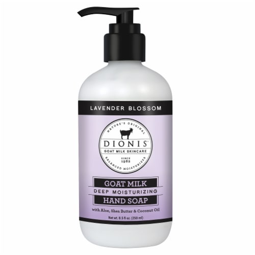 Dionis Lavender Blossom Deep Moisturizing Hand Soap Perspective: front