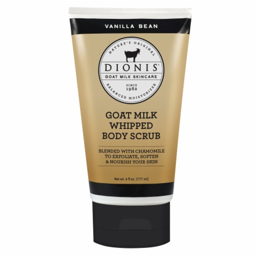 Dionis Vanilla Bean Whipped Goat Milk Scrub Perspective: front