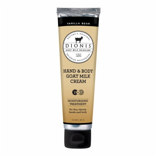 Dionis Vanilla Bean Hand & Body Cream Perspective: front