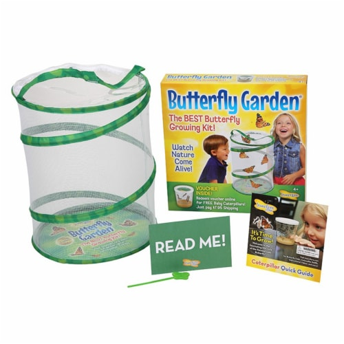 Insect Lore Original Butterfly Garden Growing Kit Perspective: front