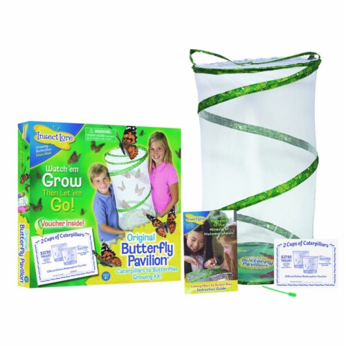 Insect Lore Butterfly Pavilion Growing Kit Perspective: front