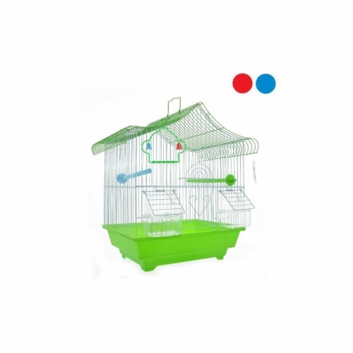 DDI 2332182 Bird Cage, Assorted Color - Case of 6 Perspective: front