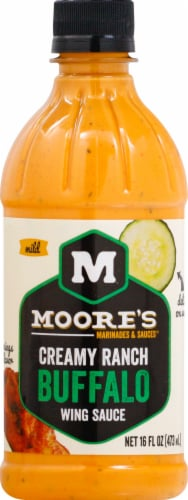 Moore's Creamy Ranch Buffalo Wing Sauce Perspective: front