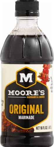 Moore's Original Marinade Perspective: front