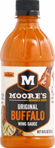 Moore's Buffalo Wing Sauce Perspective: front