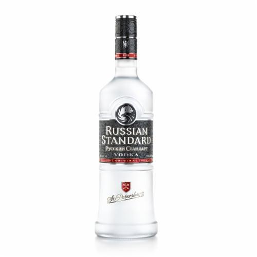 Pyccknn Ctahoapt Standard Vodka Perspective: front