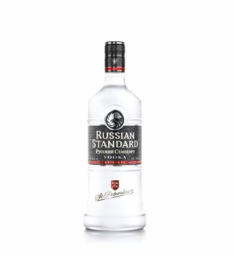 Russian Standard Vodka Perspective: front
