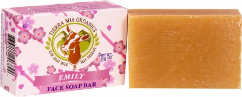Tierra Mia Organics Emily Face & Body Soap Bar Perspective: front