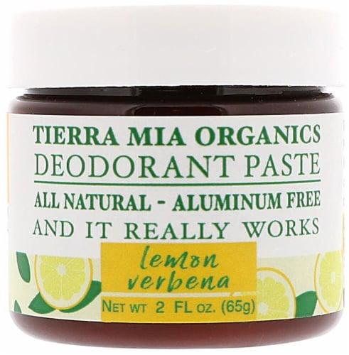 Tierra Mia Organics  Deodorant Paste Lemon Verbena Perspective: front