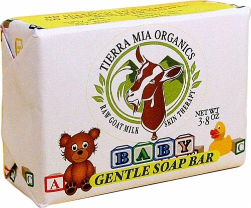 Tierra Mia Organics  Gentle Baby Soap Bar Perspective: front