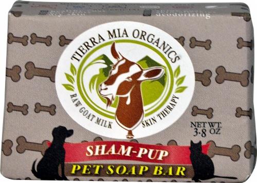 Tierra Mia Organics  Sham-Pup Pet Soap Bar Perspective: front