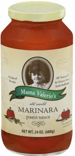 Mama Valerios Marinara Pasta Sauce Perspective: front