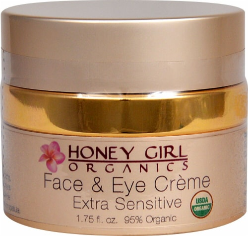 Honey Girl Organics  Face and Eye Creme Extra Sensitive Perspective: front
