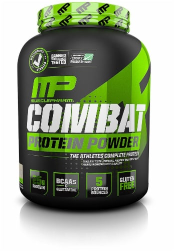 MusclePharm  Combat Protein Powder®   Cookies 'N Creme Perspective: front