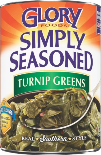 Glory Simply Seasoned Turnip Greens Perspective: front
