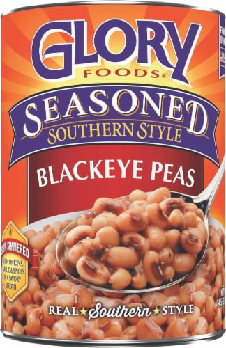 Glory Foods Seasoned Southern Style Blackeye Peas Perspective: front