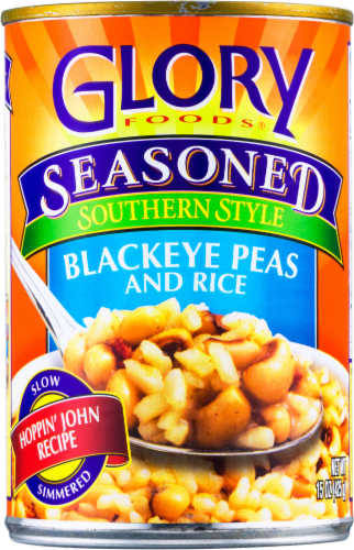 Glory Seasoned Southern Style Blackeye Peas and Rice Perspective: front