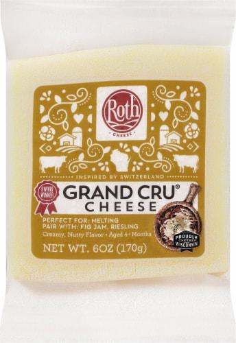 Roth Gran Cru Original Gruyere Cheese Perspective: front