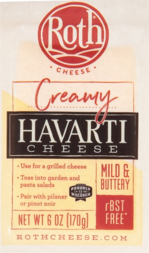 Roth Original Havarti Cheese Perspective: front
