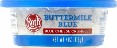 Roth Buttermilk Crumbled Blue Cheese Perspective: front