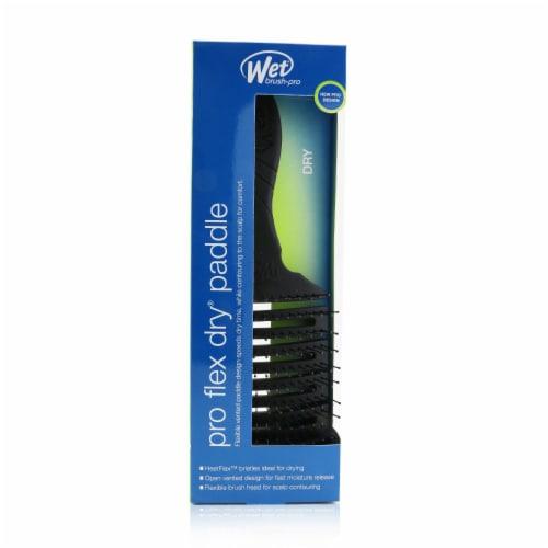 Wet Brush Pro Flex Dry Paddle Brush  Black Hair Brush 1 Pc Perspective: front