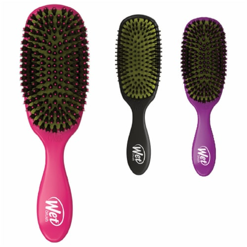 Wet Brush Shine Enhancer Hair Brush - Assorted Perspective: front