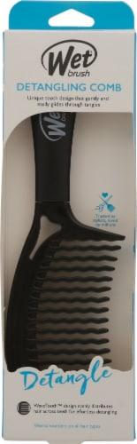 Wet Brush® Black Detangling Comb Perspective: front