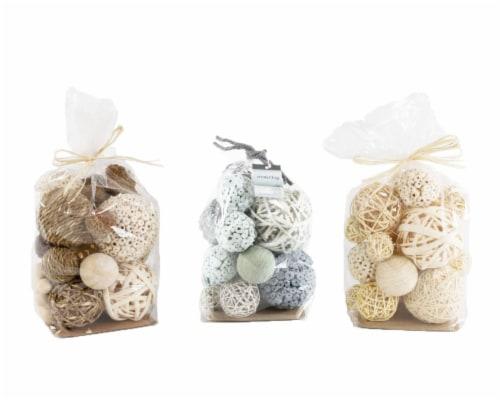 Silkcraft Natural Decor Balls Perspective: front