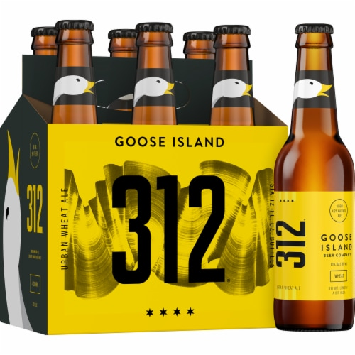 Goose Island 312 Urban Wheat Ale Perspective: front
