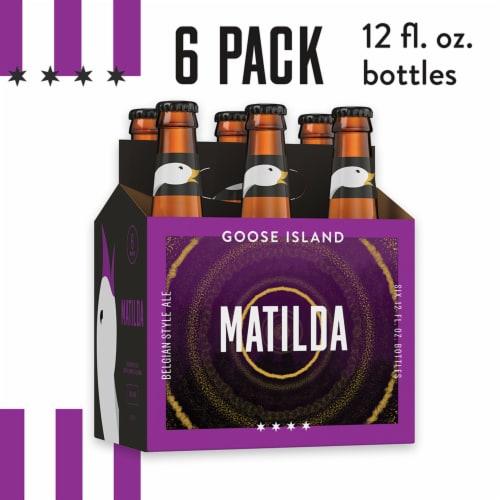 Goose Island Matilda Beligan Style Ale Beer 6 Bottles Perspective: front