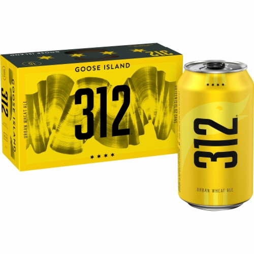 Goose Island 312 Urban Wheat Ale Beer Perspective: front