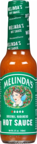 Melindas Hot Pepper Sauce Perspective: front