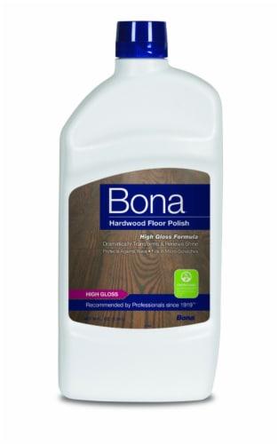 Bona  High Gloss  Hardwood Floor Polish  Liquid  36 oz. - Case Of: 1; Perspective: front