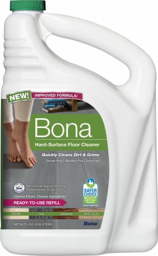Bona Stone Tile & Laminate Floor Cleaner Refill Perspective: front