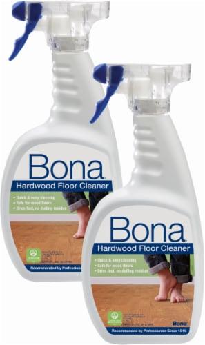Bona Hardwood Floor Cleaner Twin Pack Perspective: front
