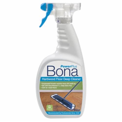 Bona  PowerPlus  No Scent Hardwood Floor Cleaner  Liquid  36 oz. - Case Of: 8; Perspective: front