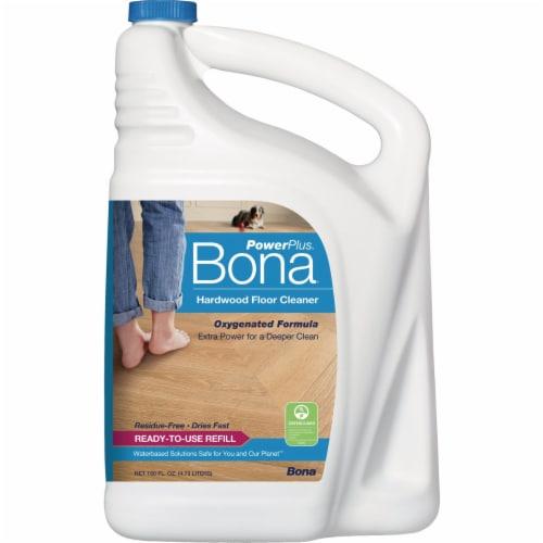 Bona PowerPlus 160 Oz. Ready-To-Use Hardwood Floor Cleaner Refill WM850056001 Perspective: front
