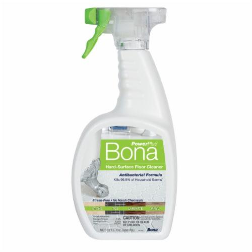 Bona PowerPlus Hard Surface Antibacterial Floor Cleaner Spray Perspective: front