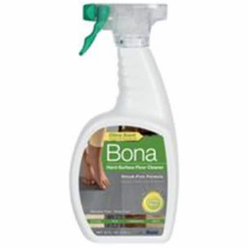 Bona  Lemon Mint Scent Hard Surface Floor Cleaner  Liquid  36 oz. - Case Of: 8; Perspective: front