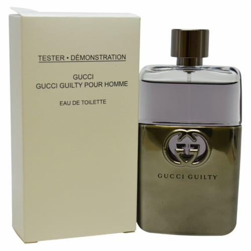 Gucci Gucci Guilty EDT Spray (Tester) 3 oz Perspective: front