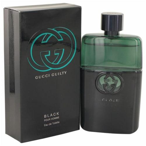 Gucci Guilty Black Pour Homme EDT Spray 90ml/3oz Perspective: front