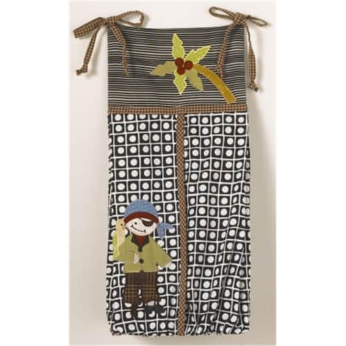 Cotton Tale PRDS Pirates Cove Diaper Stacker Perspective: front