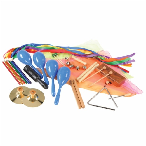 Kaplan Early Learning Out and About With Music & Movement Kit Perspective: front