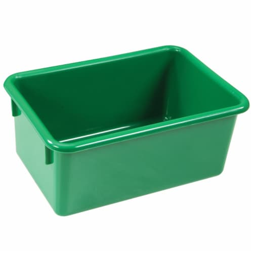 Kaplan Early Learning Green Vibrant Color Storage Bin - Set of 5 Perspective: front