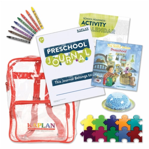 Kaplan Early Learning Time For Preschool Kit Perspective: front