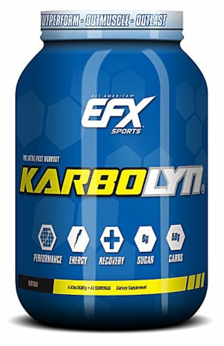 All American EFX  Karbolyn®   Neutral Flavor Perspective: front