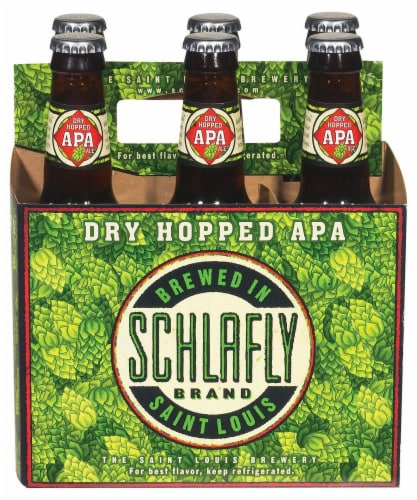 Schlafly Dry Hopped APA Perspective: front
