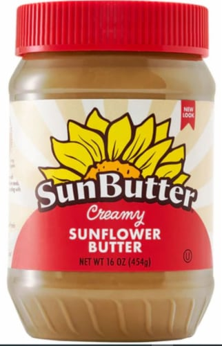 SunButter Creamy Sunflower Spread Perspective: front