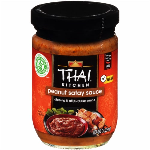 Thai Kitchen Gluten Free Peanut Satay Sauce Perspective: front